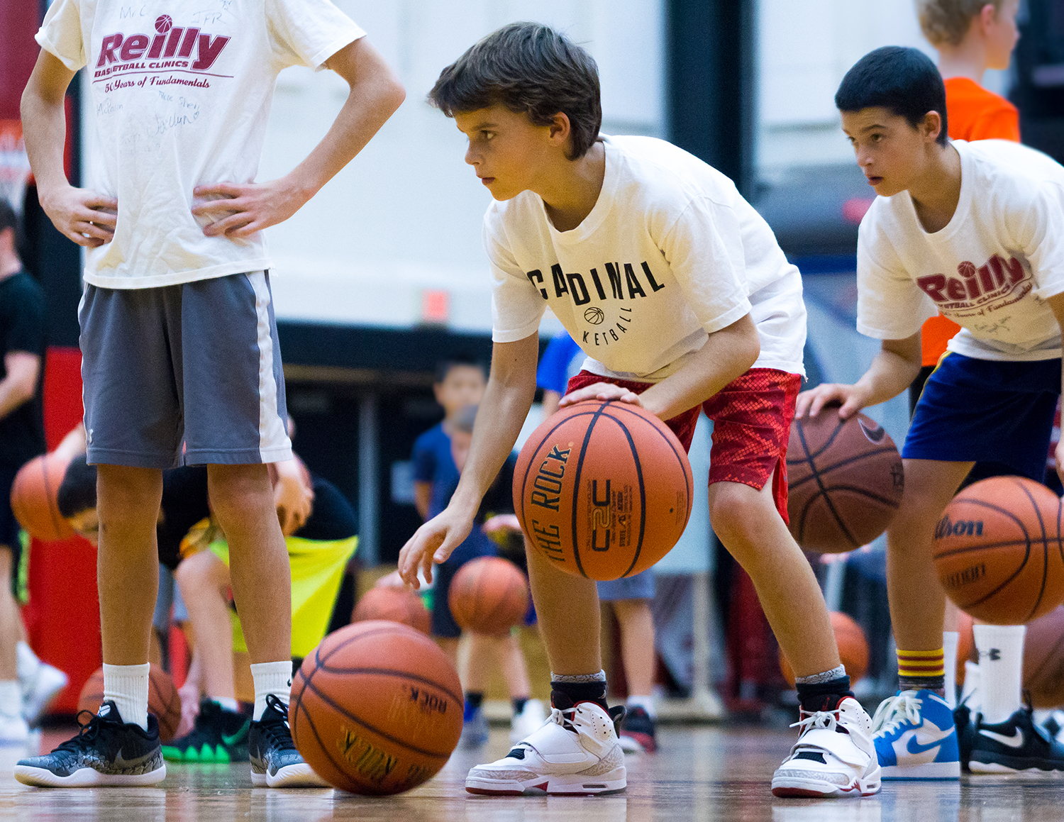 Powell_Reilly Basketball Clinic-36